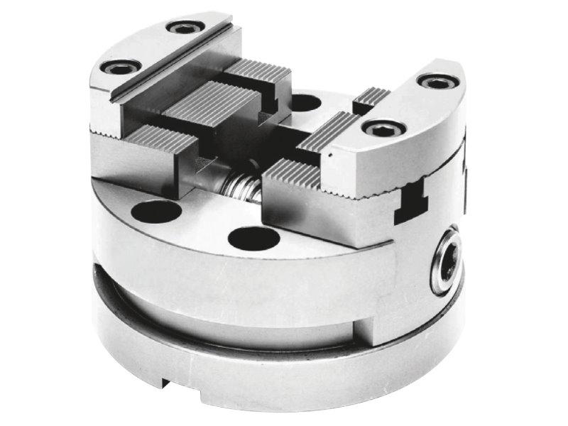 5-osiowe imadła maszynowe samocentrujące