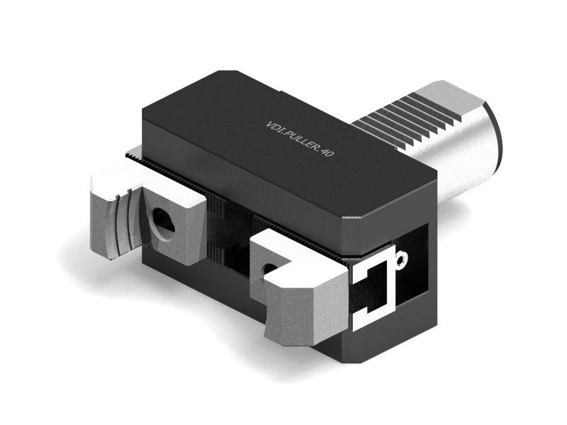 Uchwyty narzędziowe VDI DIN69880, Chwytaki pręta, Sterowane ciśnieniem chłodziwa